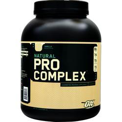 Optimum Nutrition Pro Complex (Natural) Vanilla 4.6 lbs