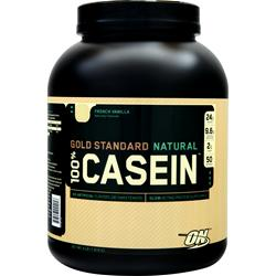 OPTIMUM NUTRITION 100% Gold Standard Casein Protein (Natural) French Vanilla 4 lbs