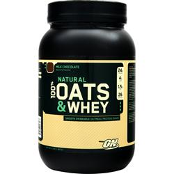 Optimum Nutrition Natural 100% Oats & Whey Milk Chocolate 3 lbs