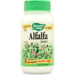 NATURE'S WAY Alfalfa Leaves - Certified Organic 100 caps