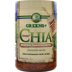 GREENS PLUS Omega 3 Chia Ancient Seed 1 lbs