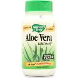 Nature's Way Aloe Vera 100 caps