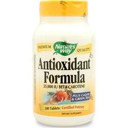 NATURE'S WAY Antioxidant Formula 100 tabs