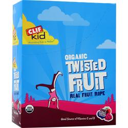 CLIF BAR Organic Twisted Fruit for Kids Mixed Berry 18 pckts