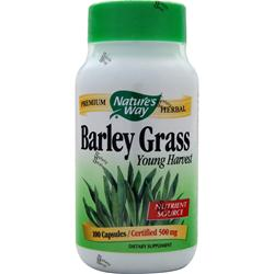 NATURE'S WAY Barley Grass 100 caps