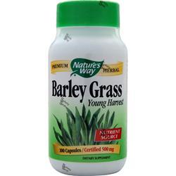 Nature's Way Barley Grass 100 caps