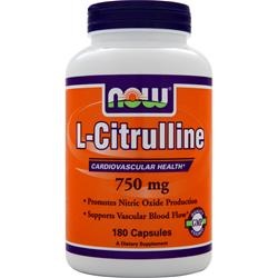 NOW L-Citrulline (750mg) 180 caps