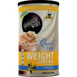Designer Whey Designer Whey Weight Control French Vanilla 12 oz