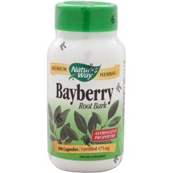 NATURE'S WAY Bayberry Root Bark 100 caps