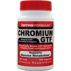 JARROW Chromium GTF (200mcg) 100 caps