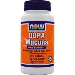 NOW DOPA Mucuna 90 vcaps