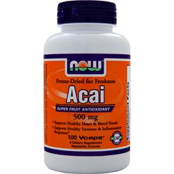 NOW Acai (500mg) 100 vcaps