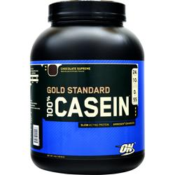 OPTIMUM NUTRITION 100% Gold Standard Casein Protein Chocolate Supreme 4 lbs