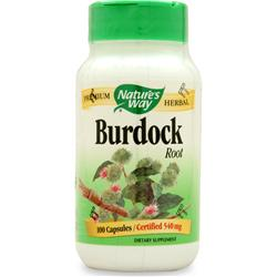 Nature's Way Burdock Root 100 caps