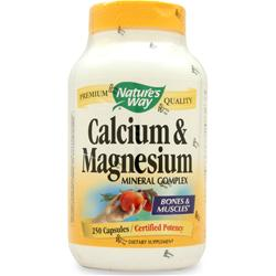 Nature's Way Calcium & Magnesium 250 caps