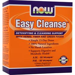 Now Easy Cleanse 120 vcaps