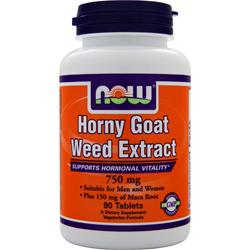 NOW Horny Goat Weed Extract (750mg) 90 tabs