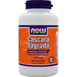 Now Cascara Sagrada (450mg) 250 caps