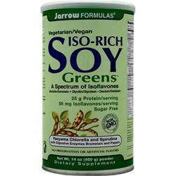 JARROW Iso-Rich Soy Greens 400 grams