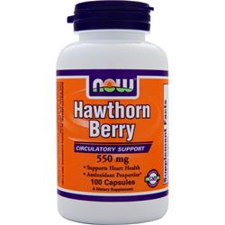 Now Hawthorn Berry (550mg) 100 caps