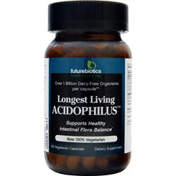 Futurebiotics Longest Living Acidophilus 100 vcaps