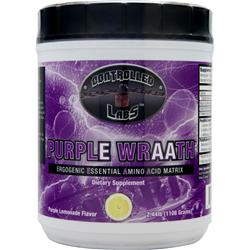CONTROLLED LABS Purple Wraath Purple Lemonade 2.44 lbs