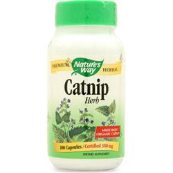 NATURE'S WAY Catnip Herb 100 caps