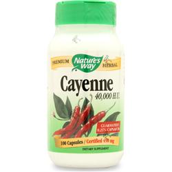 NATURE'S WAY Cayenne Pepper (450mg) 100 caps