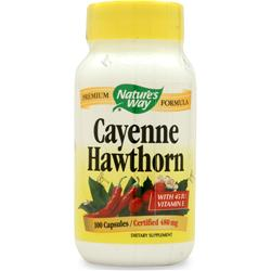 NATURE'S WAY Cayenne-Hawthorn w/Vit. E 100 caps