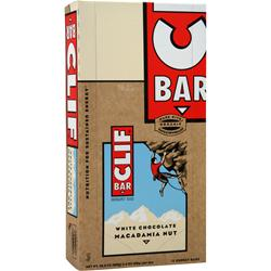 CLIF BAR Clif Bar White Chocolate Macadamia 12 bars