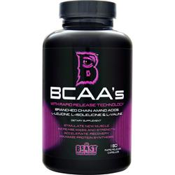 BEAST SPORTS NUTRITION BCAA's 180 caps