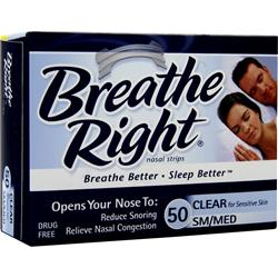 Breathe Right Breathe Right Nasal Strips Small/Medium 50 strip