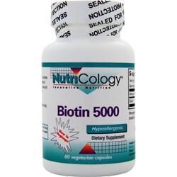 Nutricology Biotin 500 60 vcaps