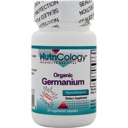 NUTRICOLOGY Organic Germanium 50 vcaps