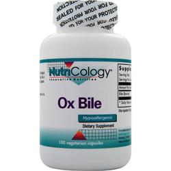 Nutricology Ox Bile 100 vcaps