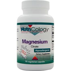 Nutricology Magnesium Citrate 90 vcaps