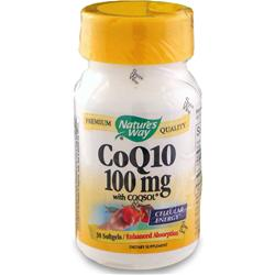 NATURE'S WAY Coenzyme Q-10 100mg 30 sgels