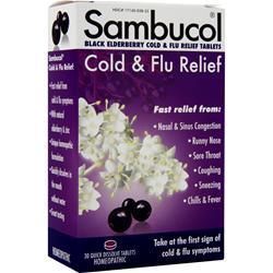 Healthcare Brands Sambucol Cold & Flu Relief 30 tabs