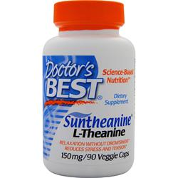Doctor's Best Suntheanine L-Theanine 90 vcaps