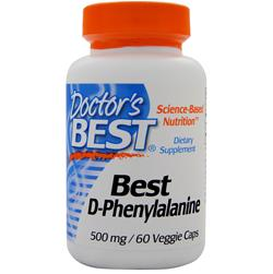 Doctor's Best Best D-Phenylalanine 60 vcaps