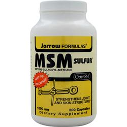 JARROW MSM Sulfur 200 caps