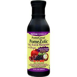 JARROW PomeGreat PomeZotic Exotic Fruit Blend 12 fl.oz