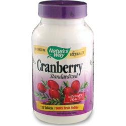 Nature's Way Cranberry Extract - Standardized 120 tabs