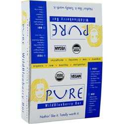 PROMAX Pure Organic Bar Wild Blueberry 12 bars