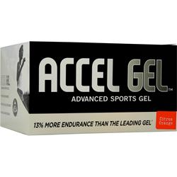 PACIFIC HEALTH Accel Gel Citrus Orange 24 pckts