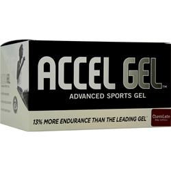 PACIFIC HEALTH Accel Gel Chocolate w/ Caffeine 24 pckts