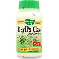 NATURE'S WAY Devil's Claw Secondary Root 100 caps