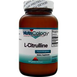 NUTRICOLOGY L-Citrulline 100 grams