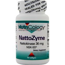 Nutricology NattoZyme (36mg) 90 sgels