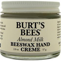 BURT'S BEES Beeswax Hand Creme Almond Milk 2 oz